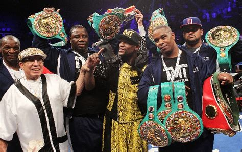 mayweather guerrero fight draws  million ppv las vegas