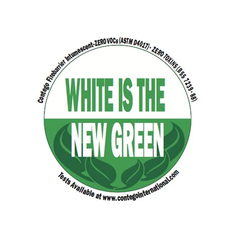 white is the new green for fire retardant paint white is the new green for fire retardant paint contego