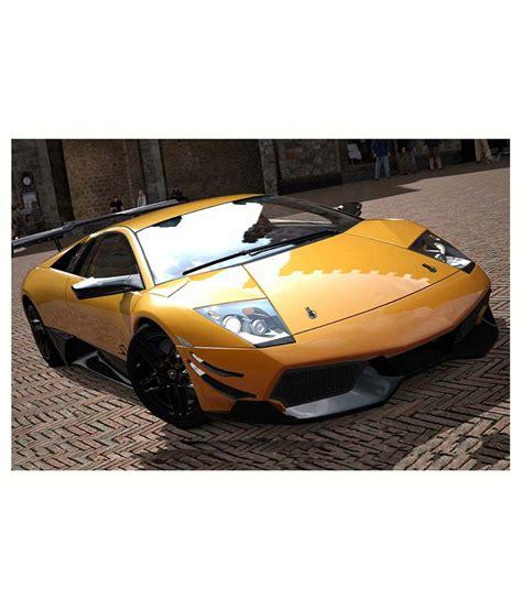 Lamborghini Styles av styles beautiful lamborghini on bricks road poster buy