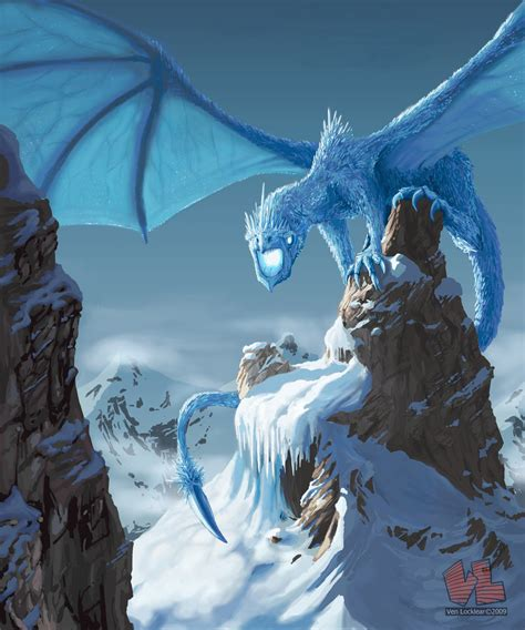 dragonsfaerieselves theunseen ice dragons legend myth