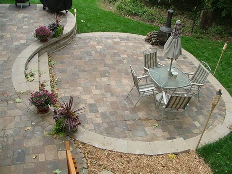 patio designs multi level concrete patio buchheit construction