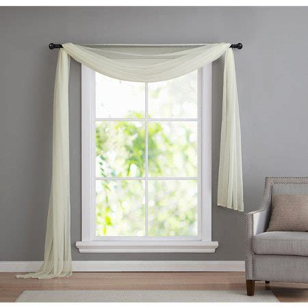 Window Scarves For Large Windows Inspiration 6 Window Valance Styles That Look Great In Any Living Room Overstock