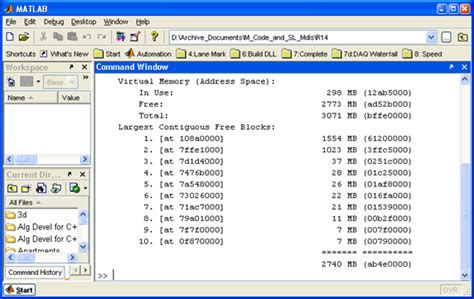 Matlab Mat Format by Handling Large Data Sets Efficiently In Matlab File