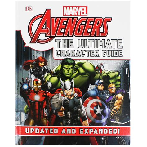 Marvel The Ultimate Character Guide Updated Expanded marvel the ultimate character guide by marvel books at the works