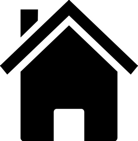 black and white home house black clip at clker vector clip royalty free domain