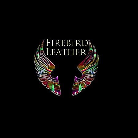 logo tapestry textile by firebird leather