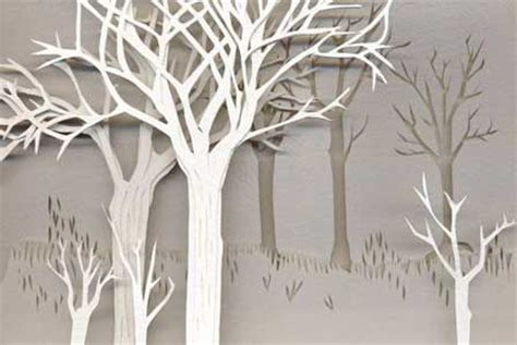 Paper From Trees - set ideas design ideas for puppet show