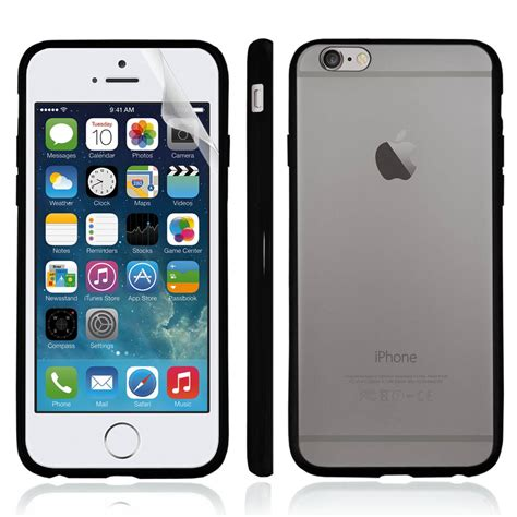 Back Cover Iphone 6 4 7 clear back silicone tpu bumper cover for iphone