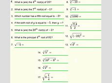 Roots of Real Numbers and Radicals - Questions with ... Maths Quiz Questions With Answers For Class 10