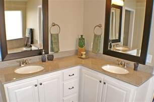 l shaped bathroom vanity sinks home