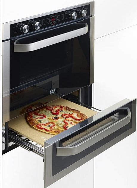 bottom drawer on electric oven it s not digiorno teka oven lets you make your own pizza