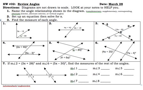 geometry angle relationships worksheet answers free all worksheets 187 angle relationships worksheets free