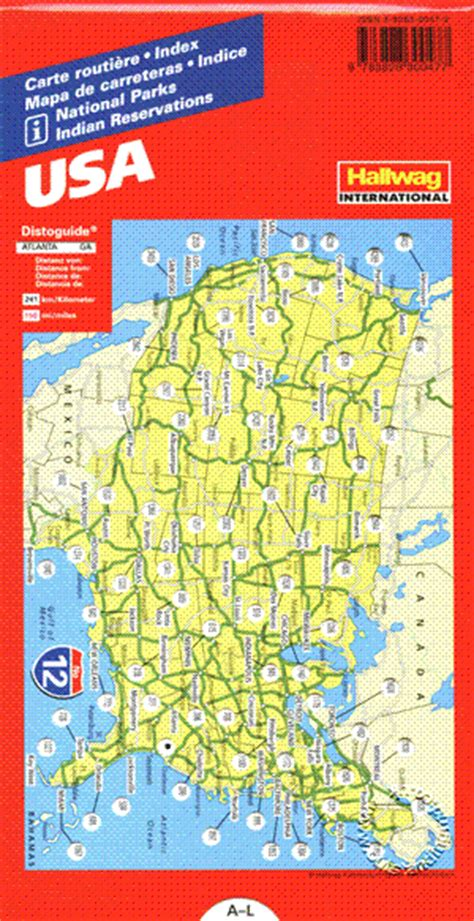 road conditions map in usa usa road guide hallwag isbn 9783828300477 map stop