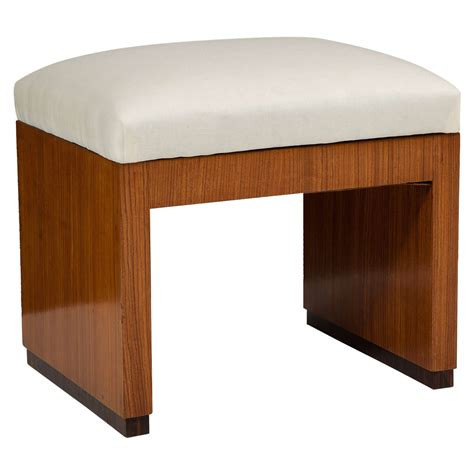 art deco bench seating early 20th century art deco style palisander bench for