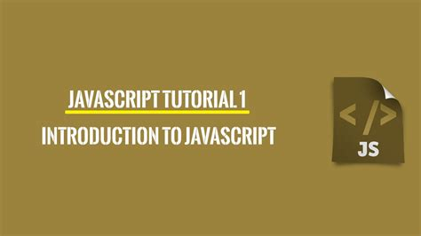 javascript tutorial http request javascript tutorial 1 introduction youtube