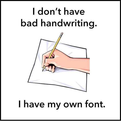 Meme Writing Font - bad handwriting funny pictures quotes memes jokes