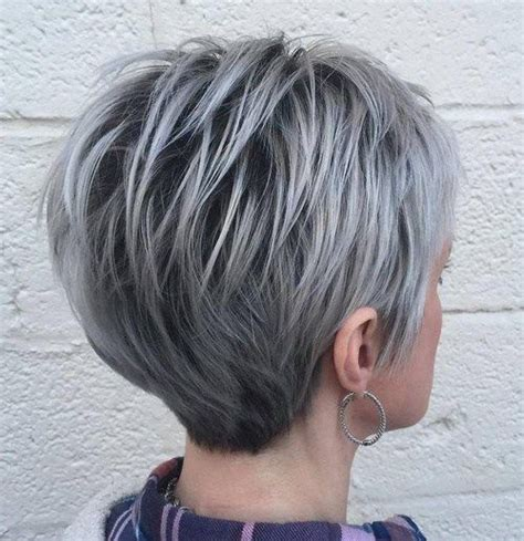 shagy short with silver highlights haistyles 70 short shaggy spiky edgy pixie cuts and hairstyles