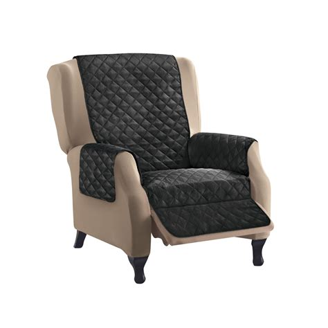 sleek recliner sleek reversible quilted furniture protector cover by