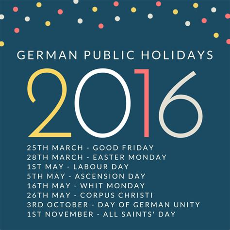 public holidays belgium 2016 events and holidays german public holidays 2016 newhairstylesformen2014 com