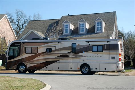 Tips For Driving A Class A Motorhome For The First Time