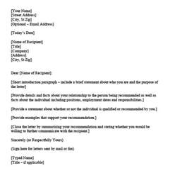 personal letter of recommendation template download personal character reference letter templates sample personal letter of recommendation template microsoft word 2011