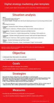 digital marketing strategy template digital marketing strategy template www imgkid the