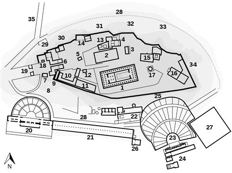 el layout wikipedia file plan acropolis of athens svg wikimedia commons