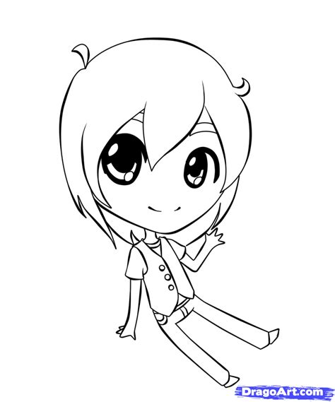 Draw Chibi Boys Step By Step Drawing Sheets Added By How To Draw Chibi Boy