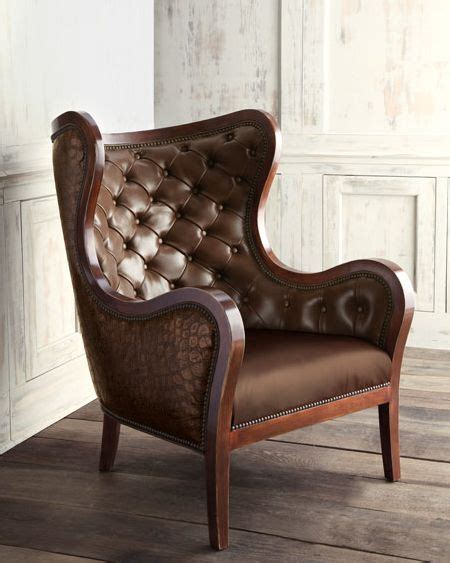 types of armchairs the raymond leather chair by massoud furniture