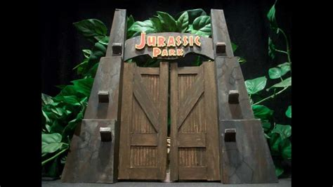 jurassic park gate youtube