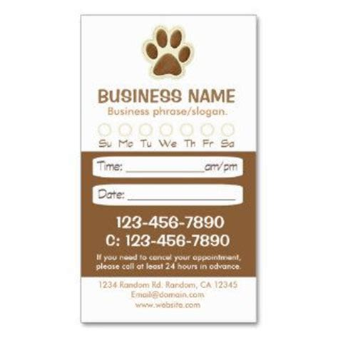 30 Best Images About Groomers Online Printing Zazzle Products On Pinterest Gifts Dog Grooming Grooming Appointment Templates