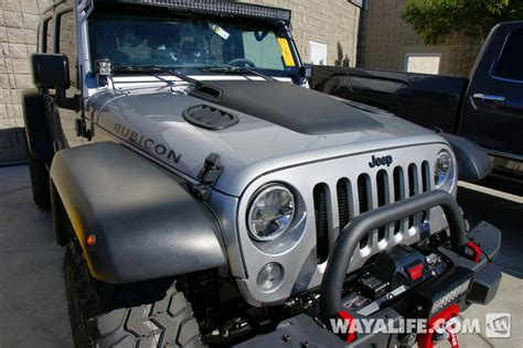Jeep Jk Vents 2014 Sema Trail Concepts Silver Jeep Jk Wrangler Unlimited