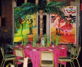 cuban decorations ideas salsa cuban and mexican themed