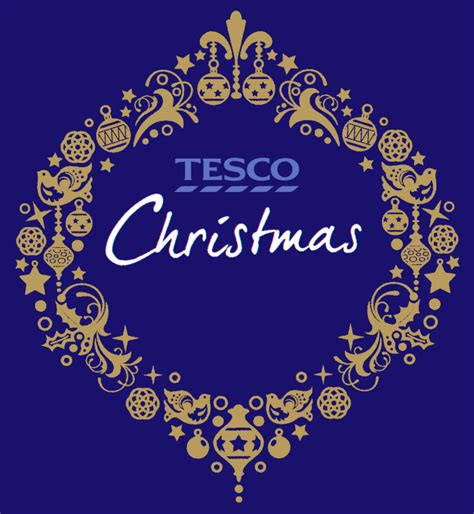 tesco christmas logopedia the logo and branding site