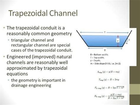 volume of trapezoidal section why are canals made with trapezoidal cross section quora