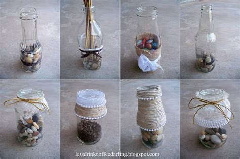 Recycled Wedding Decorations by Let S Drink Coffee Wedding Decoration Details