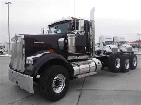 kenworth w900 2017 2017 kenworth w900 cab chassis trucks for sale used
