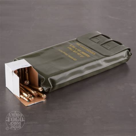 5 56 boat tail 5 56x45mm full metal jacket boat tail fmj bt ammo for
