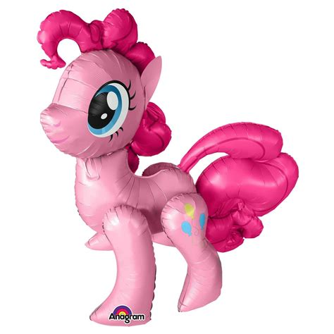 Balon Foil Pony Pink my pony airwalkers pinkie pie foil balloons air