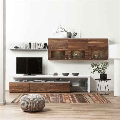 lowboard hängend grau wohnwand mit sideboard wohnwand anbauwand sideboard weiss