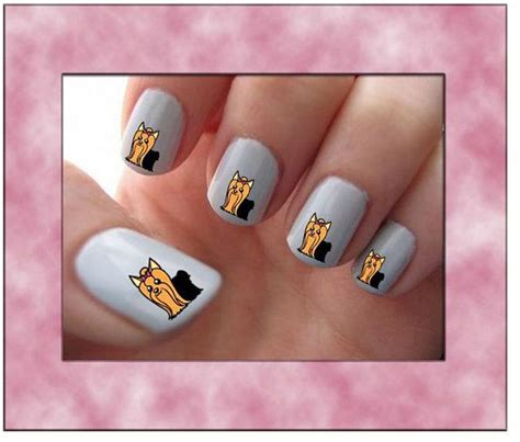 cutting yorkie nails 65 best images about nail on nail nail stickers and water