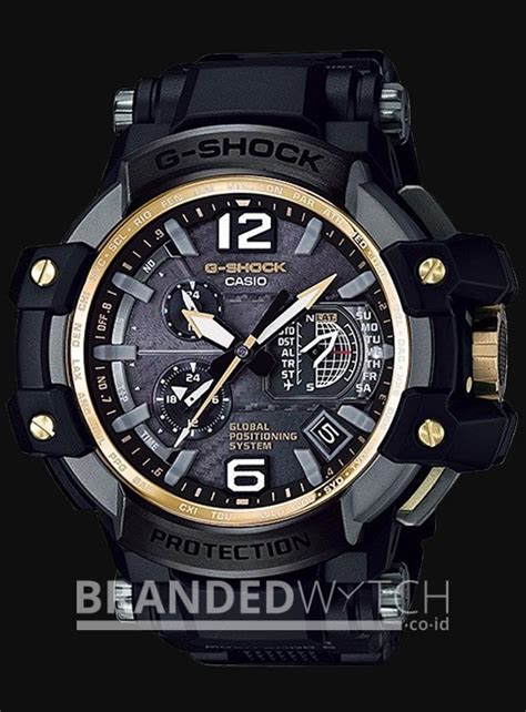 Jam Tangan Casio G Shock Mudmaster Premium Black casio g shock gpw 1000fc 1a9dr gps hybrid black gold brandedwatch co id