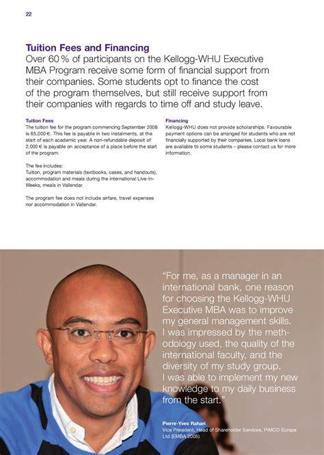 Kellogg Executive Mba Profile by Kellogg Whu Executive Mba Brochure 2008 2010 By