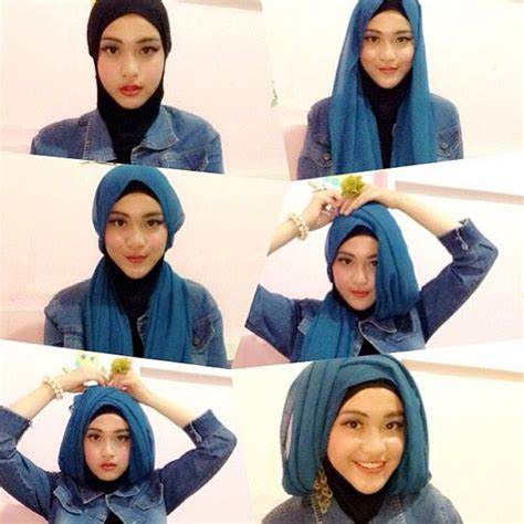 tutorial hijab turban zaskia mecca 48 best images about hijab on pinterest
