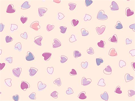 cute pattern desktop wallpaper cute heart pattern wallpaper 41517 wallpapers