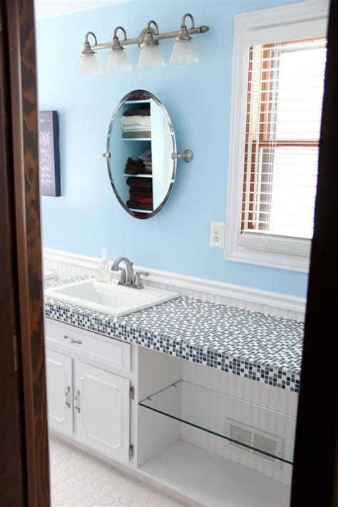 Modern Bathroom Countertops by How To Spray Paint Countertops