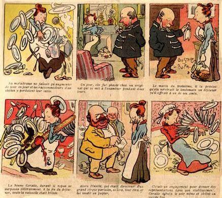 D I S K O N Jangka Bofa S404 comic by gus bofa 1905
