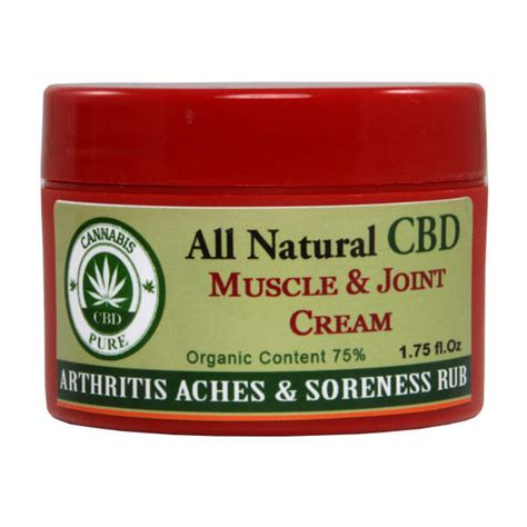 marijuana ointment for arthritis cannabis hemp pure cbd muscle joint cream arthritis