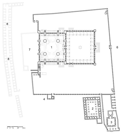 floor plan of a mosque structure and form of the mosque blue mosque