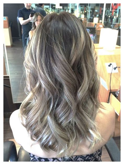 how to do ash ombre highlight on short hair ombre ash brown with balayage ash blonde highlites my